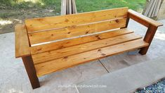 DIY Outdoor Couch - Drilling Down To It