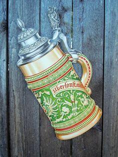 Vintage 1985 Oktoberfest Decoration Large Beer Stein http://www.oktoberfesthaus.com
