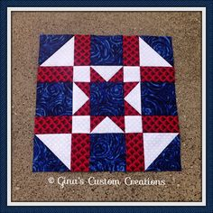 Army Star Quilt Block | Part of the Tuesday Quilters star BA… | Flickr