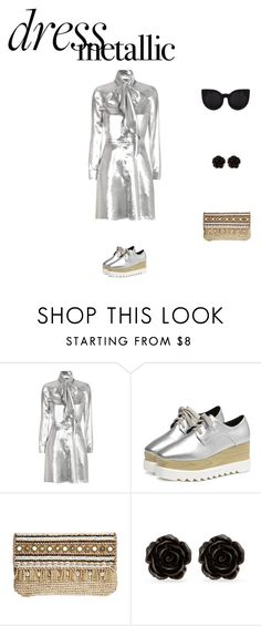 """md"" by maria-l-v ❤ liked on Polyvore featuring Yves Saint Laurent, Skemo, Erica Lyons and Delalle"
