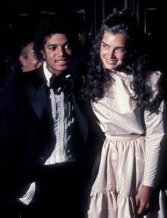 Michael Jackson and Brooke Shields - 1981