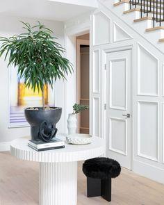 Interior entry details by Cuff Studio