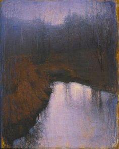 """""""Ghost Stream"""" oil/linen - John Felsing"""