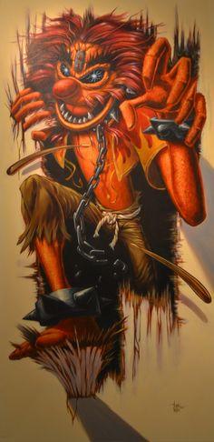 Iron Maiden Animal