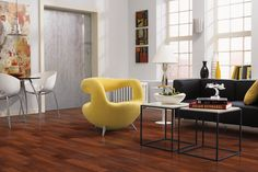 Celebration - 2 Plank Laminate, Natural Merbau Laminate Flooring | #MohawkFlooring #laminate
