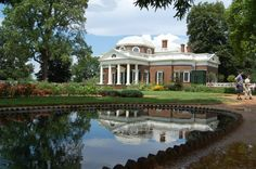 I visited Monticello a few years ago.  Thomas Jefferson and I share the same birthday, April 13.