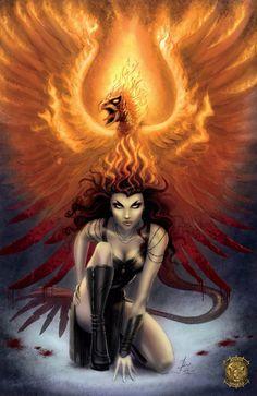 Dark Phoenix ~Dawn-McTeigue (one of my favorite characters)
