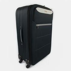 Čiernošedý cestovný kufor veľký