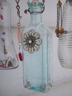 Bottle Chime Mobile  ...  by bettye