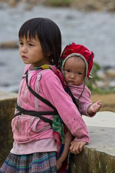 Hmong Tribe children in northern Vietnam by Lisa Osta on 500px
