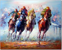 Risultati immagini per polo sport in art painting