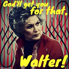 Maude is one classy dame Movie Lines, Famous Movies, Tv Show Quotes, Golden Girls, You Got This, Nostalgia, Tv Shows, Film, Movie Posters
