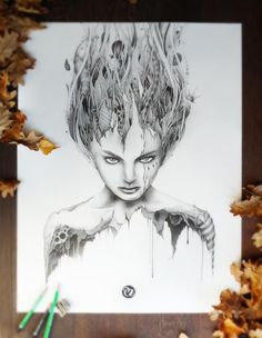 Pencil Drawings by PEZ