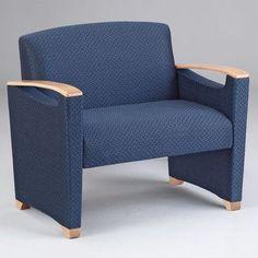Lesro Somerset Bariatric Lounge Chair Finish: Mahogany, Material: Kilkenny Tweed Brite Light Vinyl
