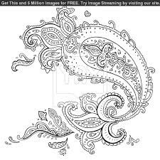 adult coloring pages paisley - Google Search
