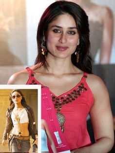 Female Celebrity Transformation from Fat-to-Fit # 7: Kareena Kapoor She maybe a 'size zero' but when she first entered the movie business, she was a couple of pounds heavier. But she transfomed her body by taking up yoga and following a strict diet. Also See:5 Celeb in the News for their Health Antics *Image courtesy:idiva
