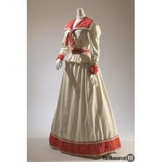People and Brands: Brand: Haas Brothers Medium: Cotton pique Date: c.1895 Country: USA