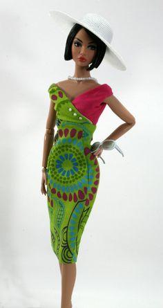 Aruba Jamaica Key Largo Montego Kokomo for Barbie Silkstone Fashion Royalty…