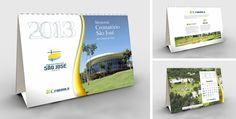 Cliente: Grupo L. Formolo Material: Calendário de Mesa 2013 Agência: BAG propaganda