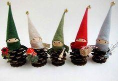 Proste pomysły na ZIMOWE dekoracje z szyszek, które zrobisz z dzieckiem