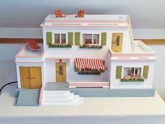 EXCLUSIVE original MORITZ GOTTSCHALK dollhouse MANSION 50s 60s VINTAGE museum