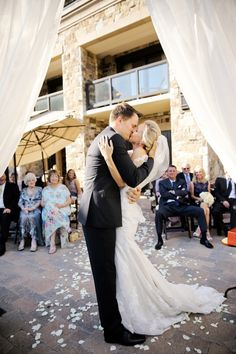 A Private Utah Elopement | St Regis Deer Valley Wedding | Logan Walker Photography | First Kiss as Husband and Wife