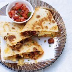Chorizo, Potato & Thyme Quesadillas | Red Online