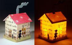 hutch studio: Paper Houses.