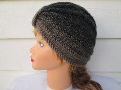 Fashion Turban beanie Turban hat hand knitted by Ritaknitsall
