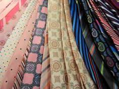 Ties include Zianetti and David's Master Collection from Davelle Clothiers for Him & Her