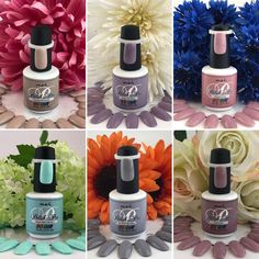 Lovely Floral Polishes
