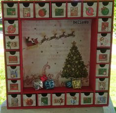 Hey, I found this really awesome Etsy listing at https://www.etsy.com/listing/205056436/santa-christmas-advent-calendar