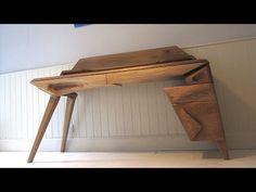 Sculpted Oak Desk: 5 Steps (with Pictures)