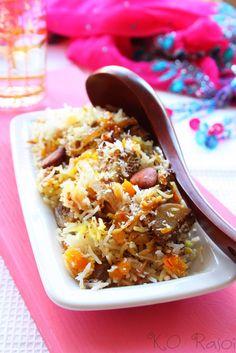 Mughlai Apricot Biryani | K.O Rasoi