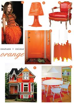 Red Orange is my new favorite color of the month :)
