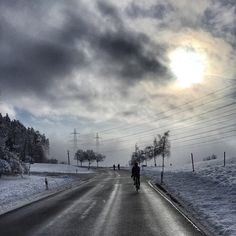 Cold and wet Teamride. Winter is now.. @alaincovi #cycling #winter#dream#cold#team#ride#hard#sport#swiss#winter#sky#sun#fog#snow#wet#day#friends#fun#beautiful #nature#road#switzerland Credit alaincovi...