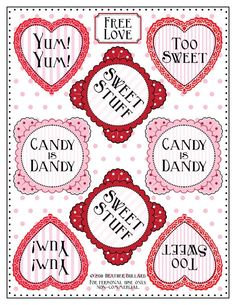 free ...candy tags download