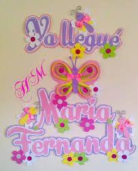 Resultado de imagen para nombres con foami Foam Crafts, Diy And Crafts, Princess Peach, Baby Shower, Birthday, Creative, Samara, Banners, Christ