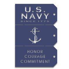 Memories In Uniform - Laser Cut - US Navy Tag Set at Scrapbook.com $3.79