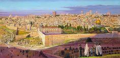 Jerusalem by Alex Levin