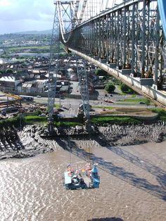 Newport Transporter Bridge Working