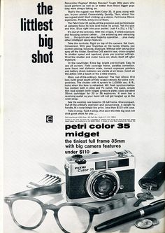 Petri Color 35  1969 / JIST PICKED ONE OF THESE UP TODAY FOR $7