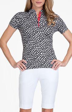 Gloria Top - Rendezvous for Golf - Women's Golf Apparel - Tail Activewear