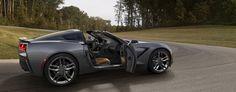 2014 Chevy Corvette Stingray Side View 1