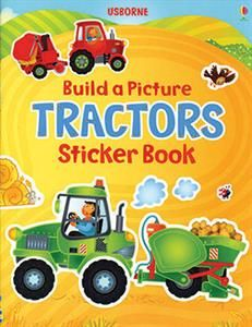 Add all the busy tractors, animals and drivers to the scenes to create the pictures in this delightful book. There are more than 100 fun stickers to play with.
