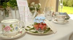 Country Style Wedding Favours