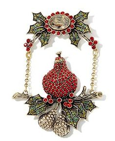 Heidi Daus Partridge Pear Tree SWAROVSKI Crystal Pin ~ Fi... https://www.amazon.com/dp/B01N7AKHMX/ref=cm_sw_r_pi_dp_x_gEbyybJPCQNCJ