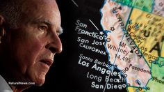 Gov. Brown orders California to become a water police state as region begins reverting to uninhabitable desert! - Must read article, esp for all my California Fb friends.  Please wake up!  Please share this article!