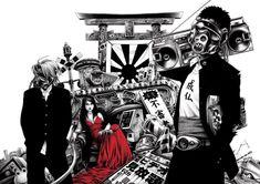 Ilustración a la japonesa por Shoei Otomo | Página 11077