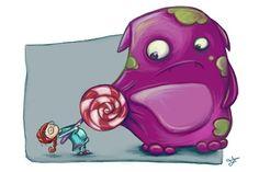 """""""Candymonster"""" von Lisa Stachnick– dasauge® Werkschau"""